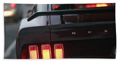 1969 Ford Mustang Mach 1 Bath Towel