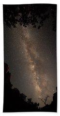 A Dark Night In Zion Canyon Bath Towel