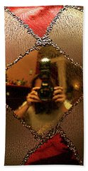 Hand Towel featuring the photograph A Photographer's Christmas Greeting by Trish Mistric