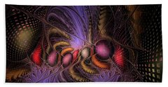 Bath Towel featuring the digital art A Student Of Time by NirvanaBlues
