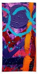 Abstract 10316 / Cropped Hand Towel