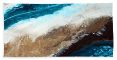 Abstract Beach 2 Bath Towel