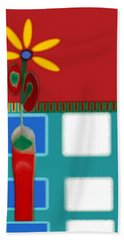 Abstract Floral Art 125 Hand Towel