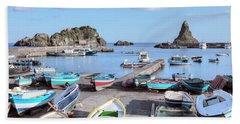 Aci Trezza - Sicily Hand Towel