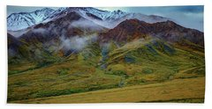 Alaskan Foothills Bath Towel