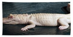 Albino Alligator Bath Towel
