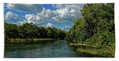 Hand Towel featuring the photograph Alexander Creek by Paul Mashburn