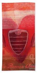 Alfa Romeo Valentine Bath Towel