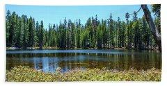 Alpine Lake - Yosemite Hand Towel by Henri Irizarri