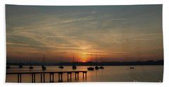 Ammersee Bath Towel