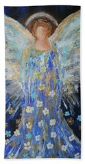 Angels Among Us Bath Towel