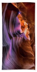 Hand Towel featuring the photograph Antelope Canyon #6 by Phil Abrams