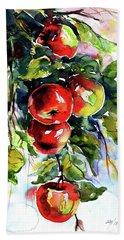 Apples Hand Towel
