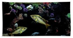 Bath Towel featuring the photograph Aquatic Life by Peggy Collins