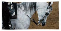 Arabian Show Horse 2 Hand Towel
