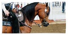 Arabian Show Horse 3 Bath Towel