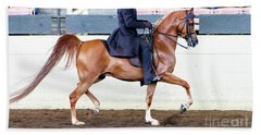 Arabian Show Horse 4 Bath Towel