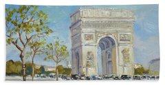 Arc De Triomphe, Paris Hand Towel
