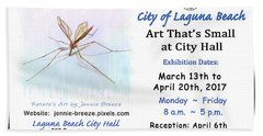 Art That's Small At City Hall  Hand Towel