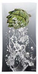 Artichoke Splash Hand Towel