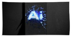 Artificial Intelligence Cloner Smartphone Hand Towel