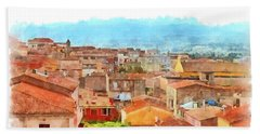 Arzachena Urban Landscape Hand Towel