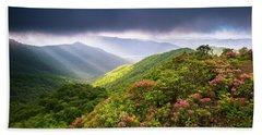 Asheville Nc Blue Ridge Parkway Spring Flowers North Carolina Hand Towel