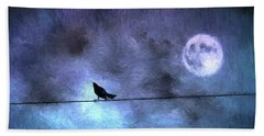 Bath Towel featuring the photograph Ask Me For The Moon by Jan Amiss Photography