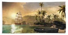 Assassin's Creed Iv Black Flag Hand Towel