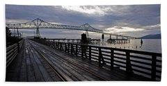 Astoria-megler Bridge 4 Bath Towel