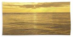 Bath Towel featuring the digital art Ocean View by Mark Greenberg