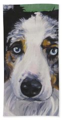 Australian Shepherd Bath Towel