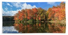 Autumn At Boley Lake Hand Towel