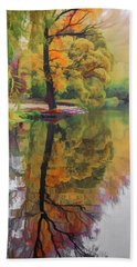 Hand Towel featuring the photograph Autumn Colors by Vladimir Kholostykh