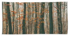 Autumn Forest Hand Towel