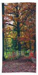 Autumn Impression Hand Towel