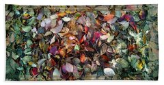 Autumn Leaves Hand Towel by Lori Seaman