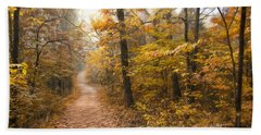 Autumn Morning Hand Towel