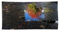Autumn Reflections Bath Towel by Brian Chase