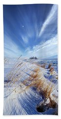 Hand Towel featuring the photograph Azure by Phil Koch