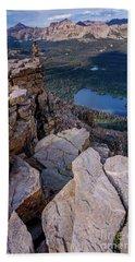 Bald Mountain - Mirror Lake - Uinta Mountains - Utah Hand Towel