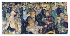 Ball At The Moulin De La Galette Bath Towel