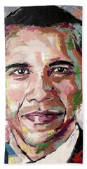 Barack Obama Hand Towel