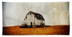Barn On The Hill Hand Towel