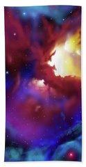 Bat Nebula Bath Towel