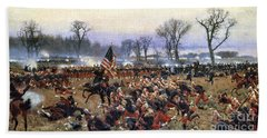 Battle Of Fredericksburg - To License For Professional Use Visit Granger.com Bath Towel
