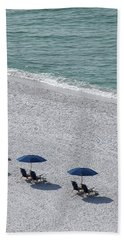 Bath Towel featuring the photograph Beach Therapy 1 by Marie Hicks