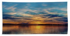 Beautiful Sunset Bath Towel