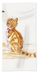 Bee Entranced Bath Towel