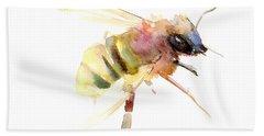Bee Hand Towel by Suren Nersisyan